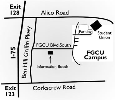 FGCU Map